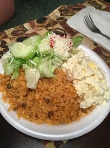 My Vegetarian Plate